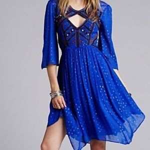 MUST SELL. Free people bell sleeve Moroccan dress